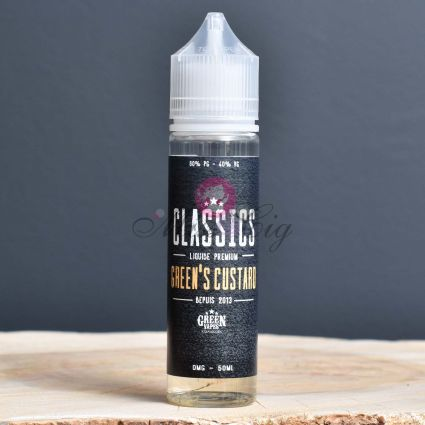 Eliquide Green's Custard Chubby 50ml | GREEN VAPES